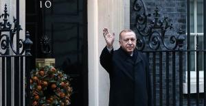 Cumhurbaşkanı Erdoğan, Fransa Cumhurbaşkanı Macron, Almanya Başbakanı Merkel ve İngiltere Başbakanı Johnson ile bir araya geldi