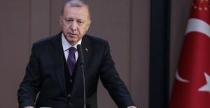 Cumhurbaşkanı Erdoğan, İngiltere'ye hareketinden önce basın toplantısı düzenledi