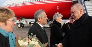 Cumhurbaşkanı Erdoğan, Londra'ya ulaştı