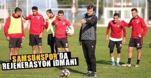 Samsunspor'da rejenerasyon idmanı