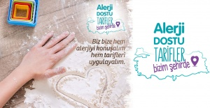 """Alerji Dostu Tarifler """"Bizim Şehirde""""  Projesiyle Türkiye Turuna Çıktı"""