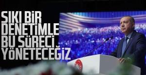 Cumhurbaşkanı Erdoğan, Akıllı Şehirler ve Belediyeler Kongre ve Sergisi'nde hitap etti