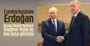 Cumhurbaşkanı Erdoğan, Rusya Devlet Başkanı...