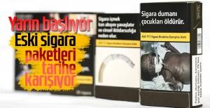 Eski Sigara Paketleri Tarihe Karışıyor