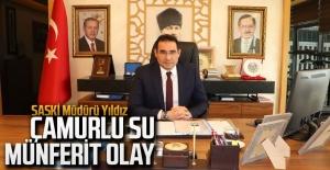 SASKİ Müdürü Yıldız:...
