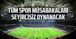 Cumhurbaşkanı Sözcüsü İbrahim Kalın 'Spor müsabakaları Nisan sonuna kadar seyircisiz'