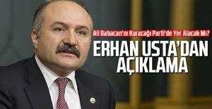 Erhan Usta, Ali Babacan#039;ın Kuracağı...