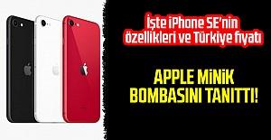Apple minik bombasını tanıttı! İşte iPhone SE'nin özellikleri ve Türkiye fiyatı