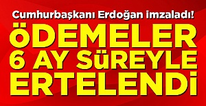 Cumhurbaşkanı Erdoğan imzaladı!...