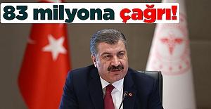 Sağlık Bakanı Fahrettin Koca'dan İstiklal Marşı çağrısı!