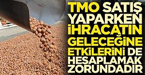 TMO satış yaparken ihracatın geleceğine etkilerini de hesaplamak zorundadır