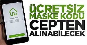 Ücretsiz Maske Kodu Cepten Alınabilecek