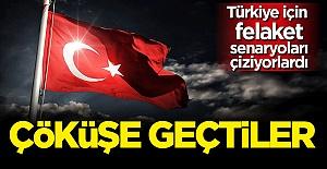Türkiye için felaket senaryoları çiziyorlardı: Kendileri çöküşe geçti