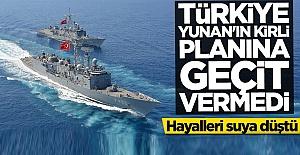 Hayalleri suya düştü! Türkiye Yunan'ın kirli planına geçit vermedi
