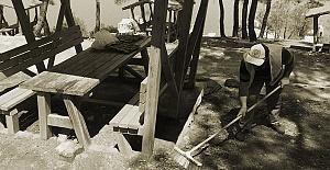Şahinkaya Kanyonu'nda temizlik