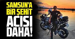 Samsun'da Kaçan aracı kovalayan Yunus polisi kazada şehit oldu