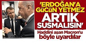 Bloomberg'den dikkat çeken yazı: Artık susmalı! Macron'un Erdoğan'a gücü yetmez