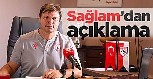 Yılport Samsunspor Teknik DirektörüErtuğrul Sağlam'dan Açıklama
