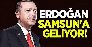 Cumhurbaşkanı Erdoğan Samsun#39;a...
