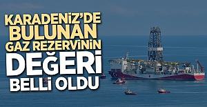 Karadeniz'deki doğal gazın değeri belli oldu