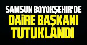 Samsun Büyükşehir#39;de daire başkanı...
