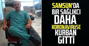 Samsun#039;da bir sağlık çalışanı...