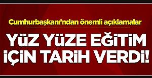 Erdoğan açıkladı! Köy okullarında eğitim 15 Şubat'ta başlayacak