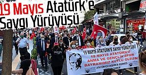 19 Mayıs Atatürke Saygı Yürüyüşü