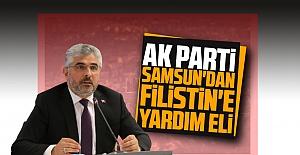 Ak Parti Samsun#039;dan Filistin#039;e...