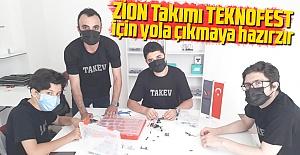 ZİON Takımı, TEKNOFEST için yola...