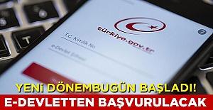 Bakan Derya Yanık duyurdu: Başvurular e-Devlet'ten yapılacak