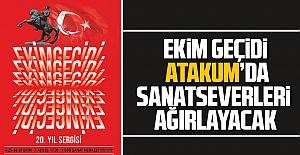 Ekim Geçidi Atakum'da  sanatseverleri ağırlayacak