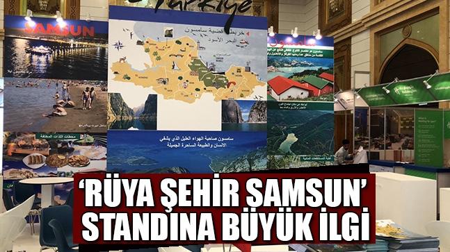 'Rüya şehir Samsun' standına büyük ilgi